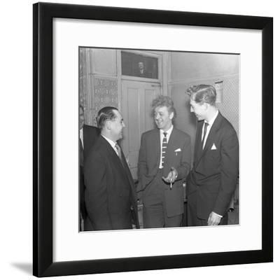 Tv and Recording Star Wee Willie Harris Visits South Yorkshire, 1958-Michael Walters-Framed Photographic Print