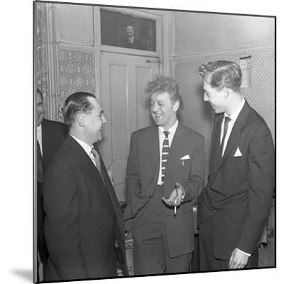 Tv and Recording Star Wee Willie Harris Visits South Yorkshire, 1958-Michael Walters-Mounted Photographic Print