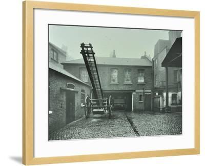 Clerkenwell Fire Station, No 44 Rosebery Avenue, Finsbury, London, 1910--Framed Photographic Print