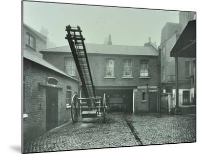 Clerkenwell Fire Station, No 44 Rosebery Avenue, Finsbury, London, 1910--Mounted Photographic Print