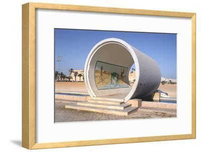 Great Man-Made River Monument, Tripoli, Libya, Late 20th Century-Vivienne Sharp-Framed Photographic Print