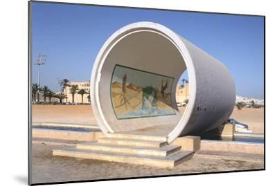 Great Man-Made River Monument, Tripoli, Libya, Late 20th Century-Vivienne Sharp-Mounted Photographic Print