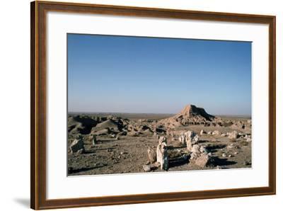 Ziggurat, Ashur, Iraq, 1977-Vivienne Sharp-Framed Photographic Print