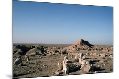 Ziggurat, Ashur, Iraq, 1977-Vivienne Sharp-Mounted Photographic Print