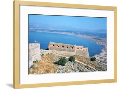 Fortress of Palamidi, Nafplion, Peloponnese, Greece-Vivienne Sharp-Framed Photographic Print