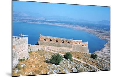 Fortress of Palamidi, Nafplion, Peloponnese, Greece-Vivienne Sharp-Mounted Photographic Print