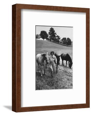 Vogue - August 1959-Toni Frissell-Framed Premium Photographic Print