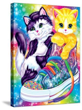 Kitten Sneakers-Lisa Frank-Stretched Canvas Print