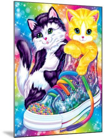 Kitten Sneakers-Lisa Frank-Mounted Art Print