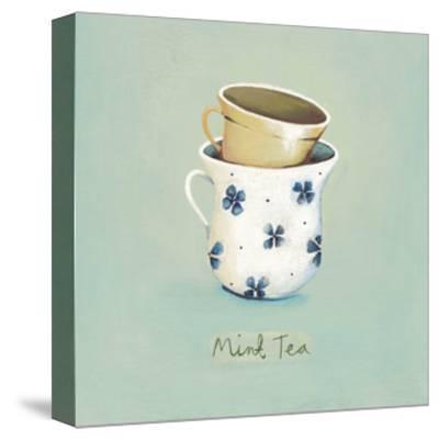 Mint Tea-Nicola Evans-Framed Stretched Canvas Print