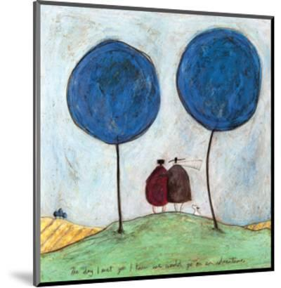 The Day I Met You-Sam Toft-Mounted Giclee Print