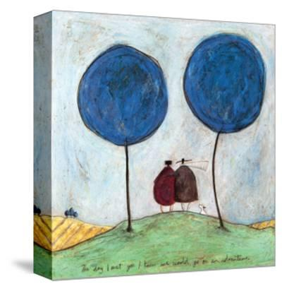 The Day I Met You-Sam Toft-Stretched Canvas Print