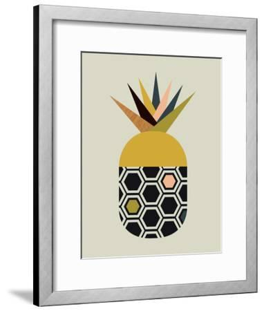 Pineapple-Little Design Haus-Framed Giclee Print