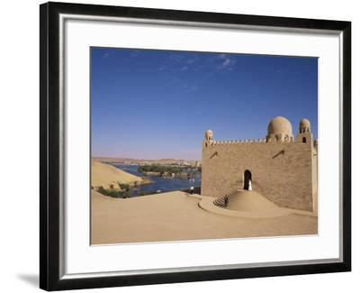 Aga Khan Mausoleum on River Nile, Aswan, Egypt-Staffan Widstrand-Framed Photographic Print