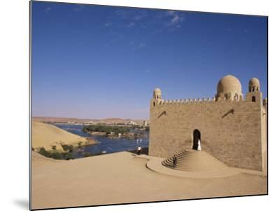 Aga Khan Mausoleum on River Nile, Aswan, Egypt-Staffan Widstrand-Mounted Photographic Print