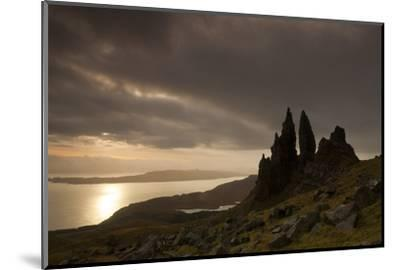 Old Man of Storr at Dawn, Skye, Inner Hebrides, Scotland, UK, January 2011-Peter Cairns-Mounted Photographic Print