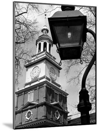 This View Shows Independence Hall--Mounted Photographic Print