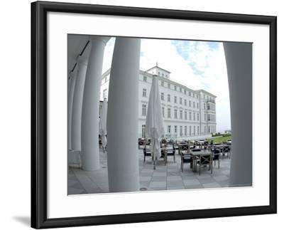 G8 Summit, Haus Mecklenburg of the Kempinski Grand Hotel, Germany-Frank Hormann-Framed Photographic Print
