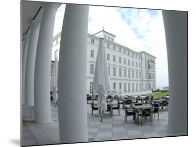 G8 Summit, Haus Mecklenburg of the Kempinski Grand Hotel, Germany-Frank Hormann-Mounted Photographic Print