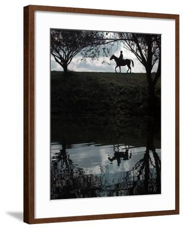 Horse Ride--Framed Photographic Print