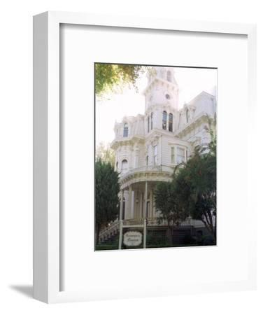The Former California Governors Mansion Seen in Downtown Sacramento, California-Rich Pedroncelli-Framed Photographic Print