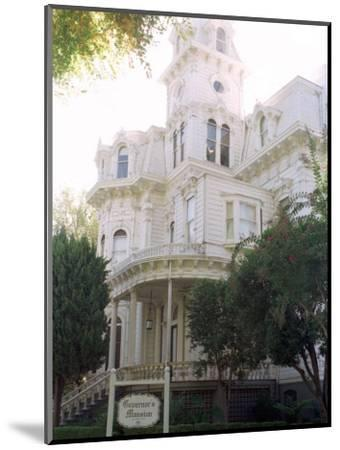 The Former California Governors Mansion Seen in Downtown Sacramento, California-Rich Pedroncelli-Mounted Photographic Print