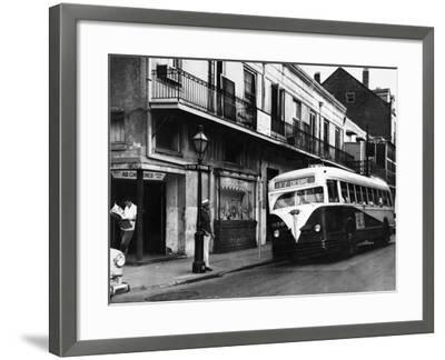 The Streetcar Named Desire is Now a Bus--Framed Photographic Print