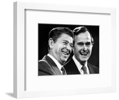 U.S. President-Elect Ronald Reagan--Framed Photographic Print