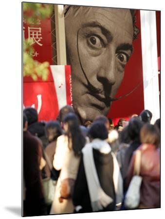 Visitors Form a Long Queue Outside Tokyo's Ueno-No-Mori Art Museum--Mounted Photographic Print