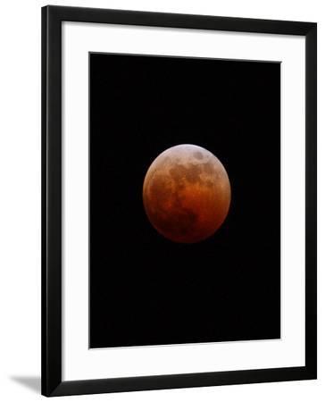 Lunar Eclipse-Alan Diaz-Framed Photographic Print