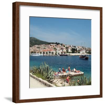 Travel Trip Croatia Island Hopping-Sheila Norman-Culp-Framed Photographic Print