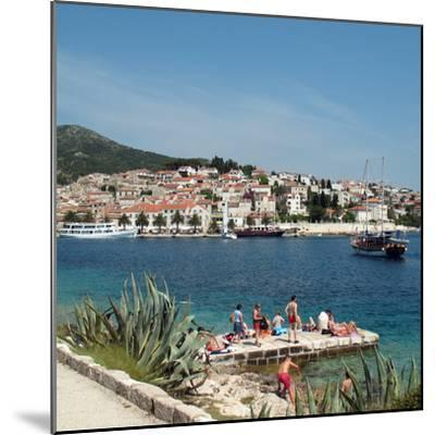 Travel Trip Croatia Island Hopping-Sheila Norman-Culp-Mounted Photographic Print