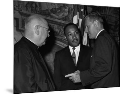 MLK Spellman Rockefeller 1962-Associated Press-Mounted Photographic Print