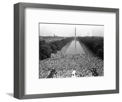 March on Washington--Framed Photographic Print