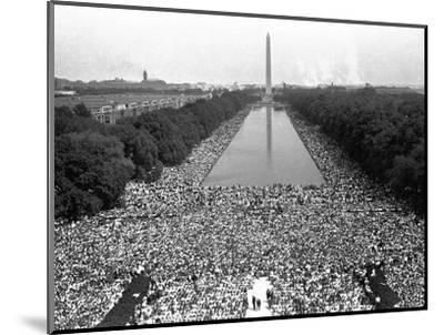 March on Washington--Mounted Photographic Print
