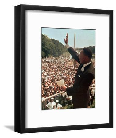 Martin Luther King Jr.-Associated Press-Framed Photographic Print