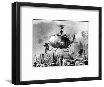 Nightmare Landing Zone-Associated Press-Framed Photographic Print