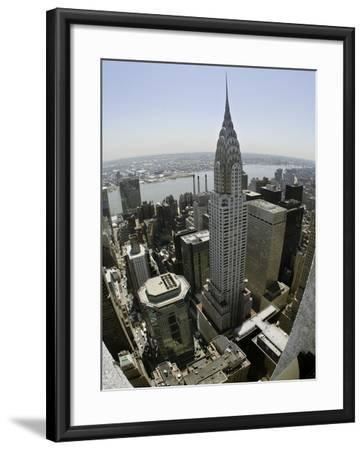 Chrysler Building-Adam Rountree-Framed Photographic Print