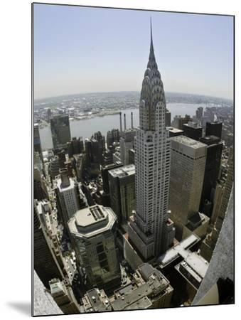 Chrysler Building-Adam Rountree-Mounted Photographic Print