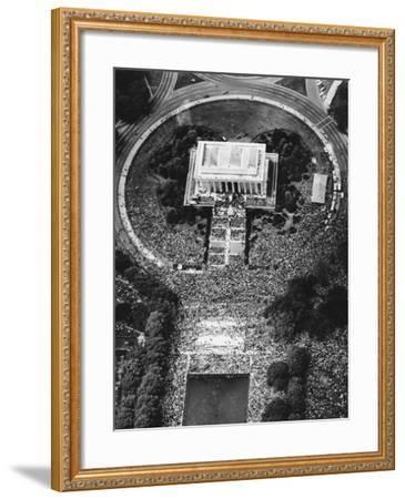 USA King I Have a Dream- STR-Framed Photographic Print