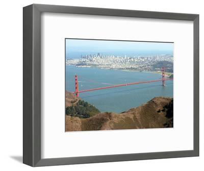 Golden Gate Bridge-Noah Berger-Framed Photographic Print