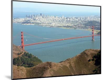 Golden Gate Bridge-Noah Berger-Mounted Photographic Print