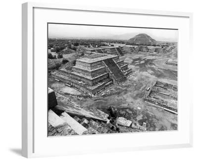 Mexico Excavations-George Brich-Framed Photographic Print
