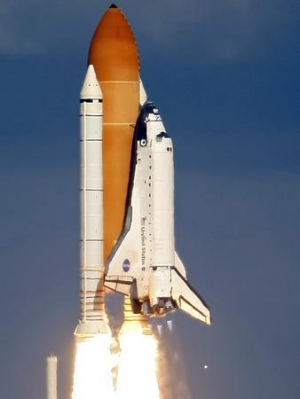 Space Shuttle-Alan Diaz-Framed Photographic Print