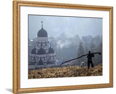 APTOPIX Moldova Daily Life-John Mcconnico-Framed Photographic Print