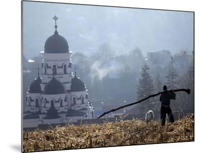 APTOPIX Moldova Daily Life-John Mcconnico-Mounted Photographic Print