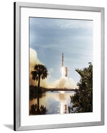 Apollo 15 Launch 1971--Framed Photographic Print