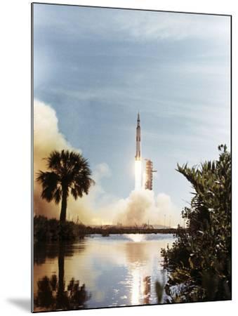 Apollo 15 Launch 1971--Mounted Photographic Print