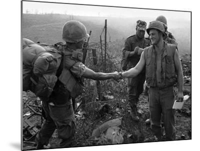 Vietnam Marines 1st Cavalry 1968-Holloway-Mounted Photographic Print