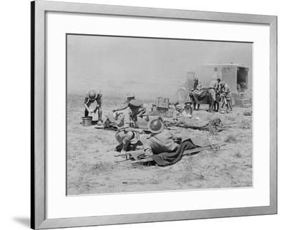 Royal Army Medical Corps WWII--Framed Photographic Print